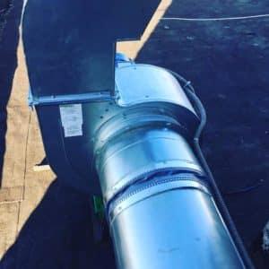 Вентиляция левого крыла ТЦ Nexty.