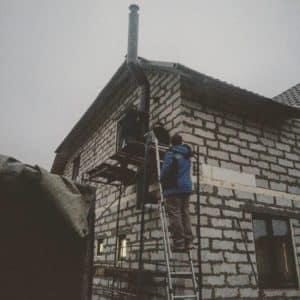 Вытяжка в частном доме в бойлерной