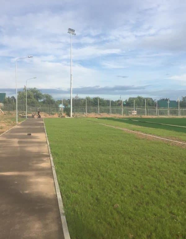 Стадион. г. Ярцево.